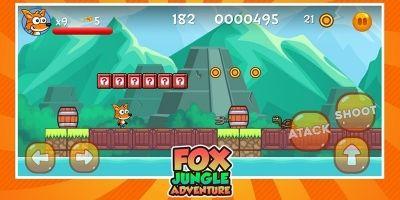 Fox Jungle Adventure Unity Source Code