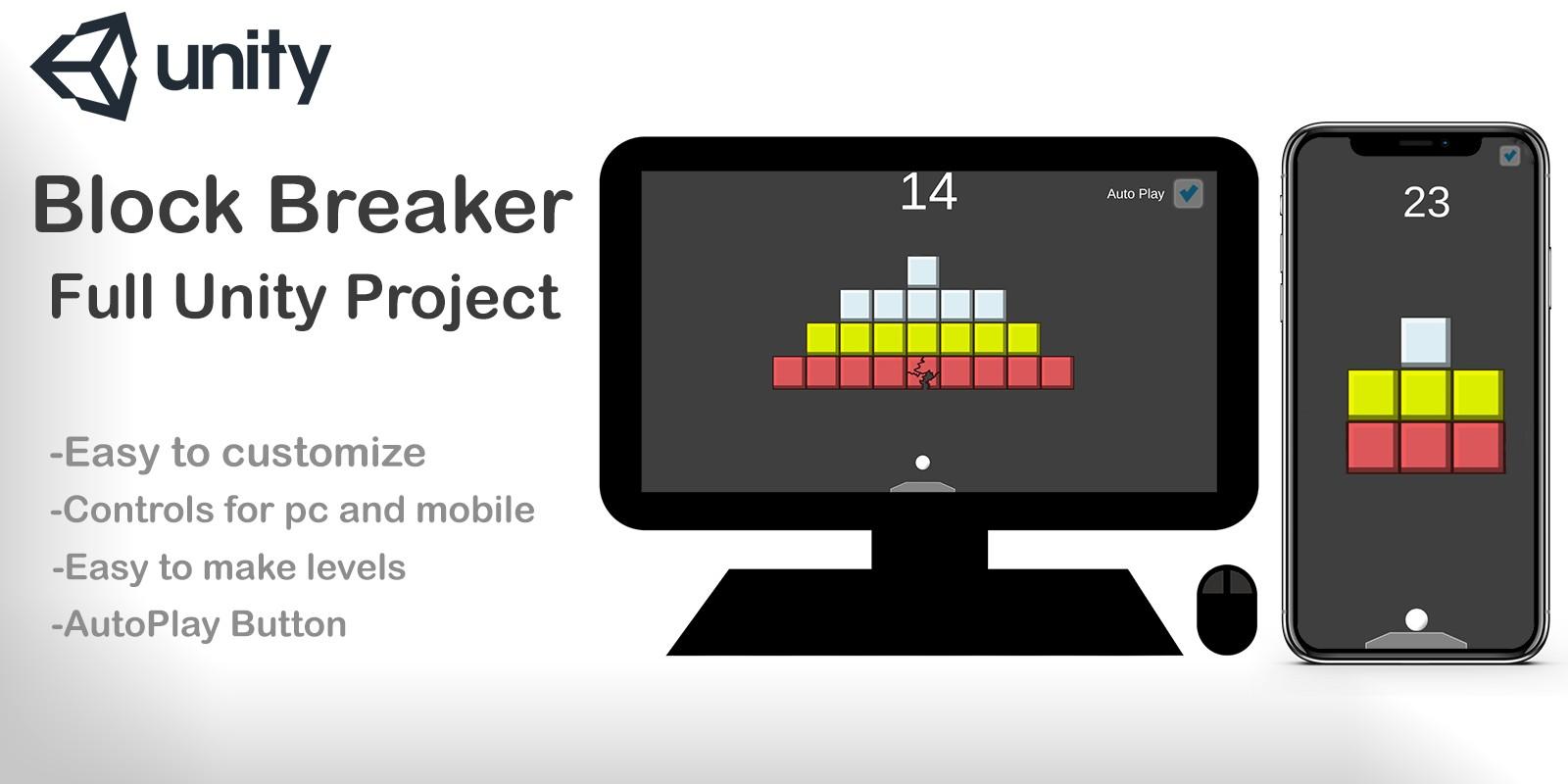 Block Breaker - Unity Template