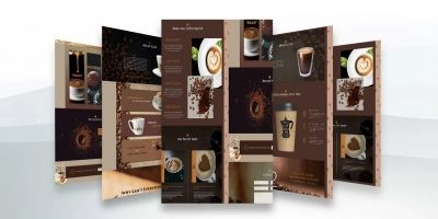 Cafe Coffee House - Coffee Shop PSD Template