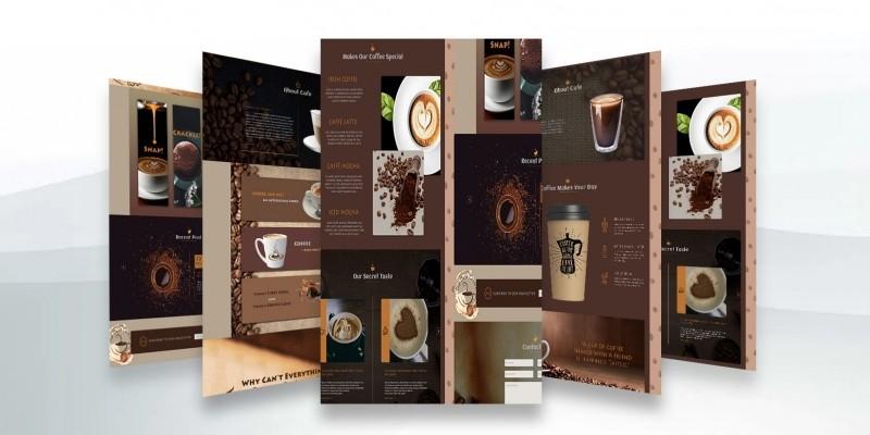 Cafe Coffee House - Coffee Shop PSD Template