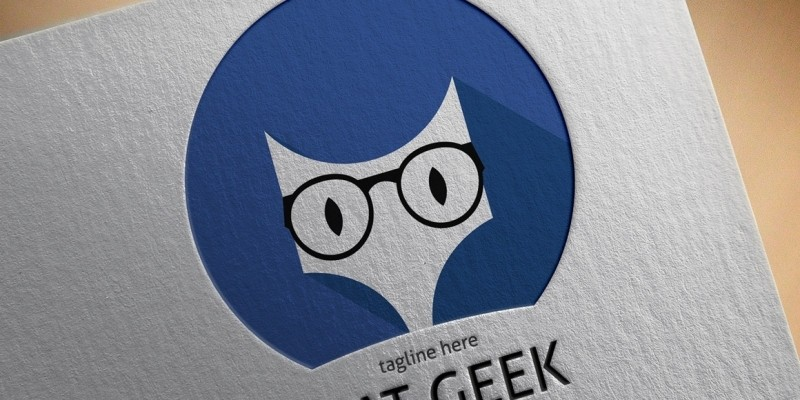 Cat Geek Logo