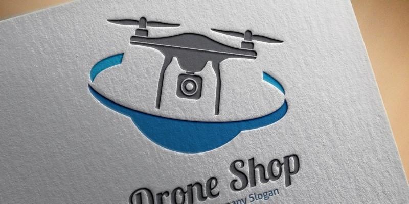 Drone Shop Logo
