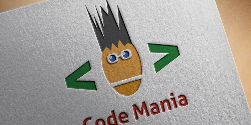 Code Mania Logo
