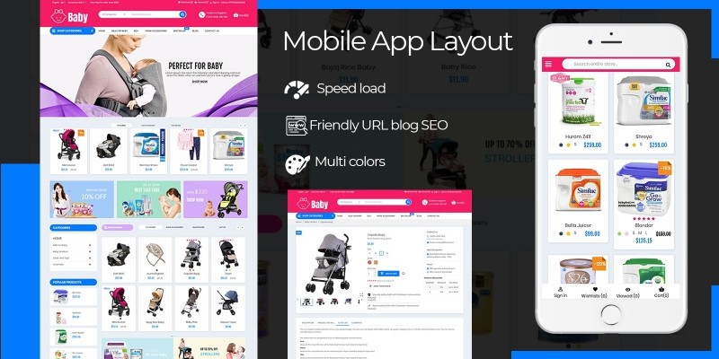 Baby Kids And Toys PrestaShop Template