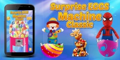 Surprise Egg Machine Game For Kids