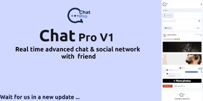 ChatPro - PHP Script Chat With Friends