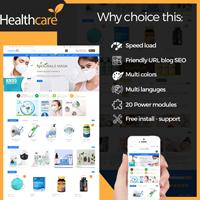 Health Care Prestashop Theme