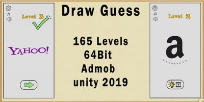 Draw Guess Puzzle Game Unity
