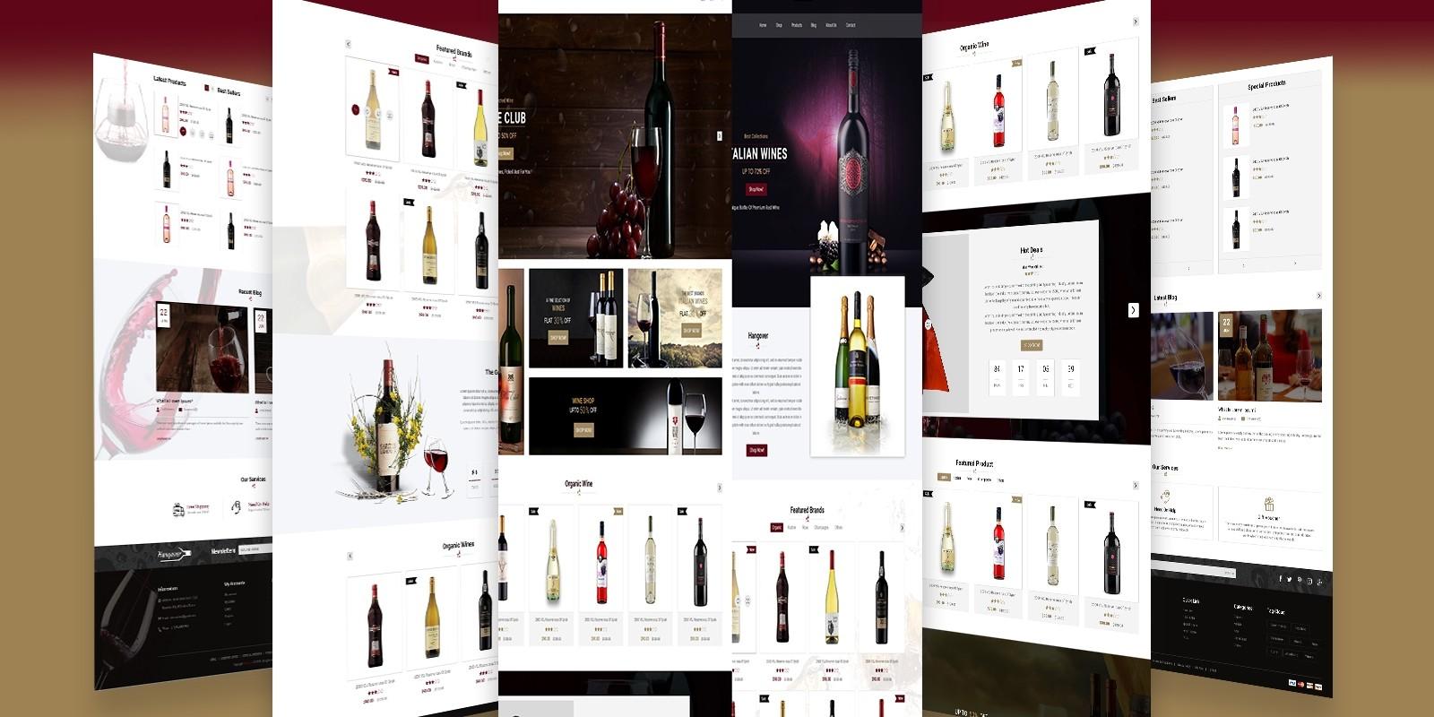 Hangover Responsive E-Commerce Website Template