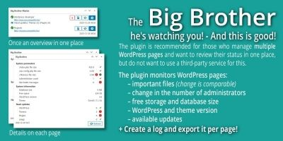 Big Brother - Managing Multiple WordPress Sites