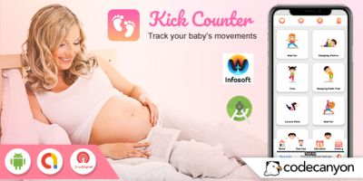 Android Baby Kick Counter - Pregnancy kick Counter