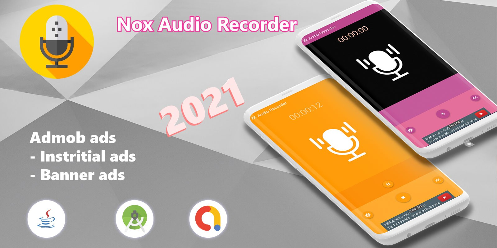 Nox - Audio Recorder - Full Android Source Code