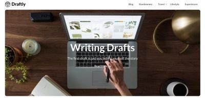 Draftly WordPress Theme
