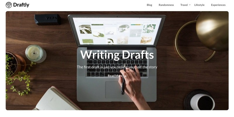 Draftly WordPress Theme