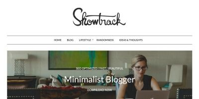 MinimalistBlogger WordPress Theme