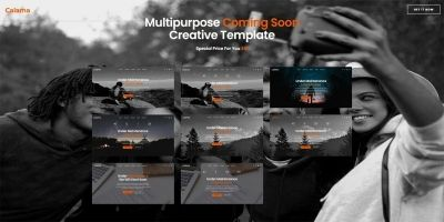 Calama - Multipurpose Creative Coming Soon Page