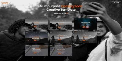 Calama - Multipurpose Creative Coming Soon Page