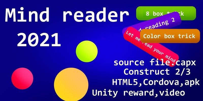 Mind reader Construct 2 template