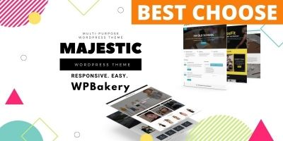 Majestic Multipurpose WordPress Theme