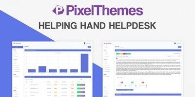 Helping Hand Helpdesk - Laravel Helpdesk System