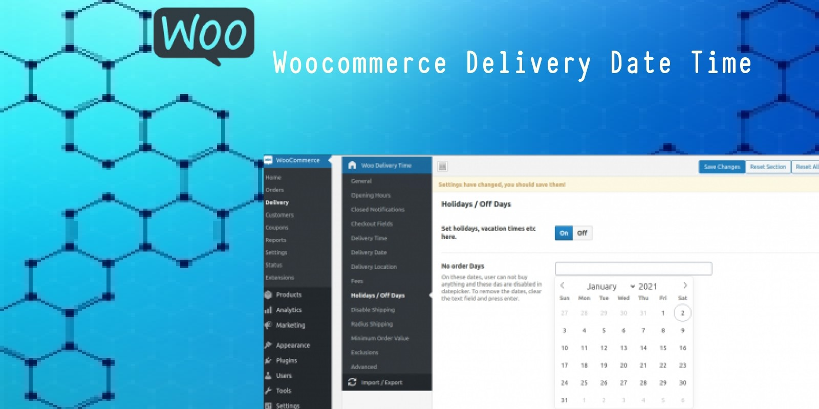 WooCommerce Delivery Date Time Plugin