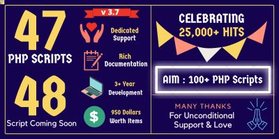 Mega PHP Scripts in Bundle Offer