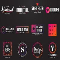 156 Minimal Logos