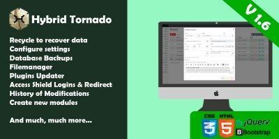 Hybrid Tornado CMS