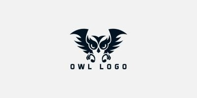 Owl  Nature Logo