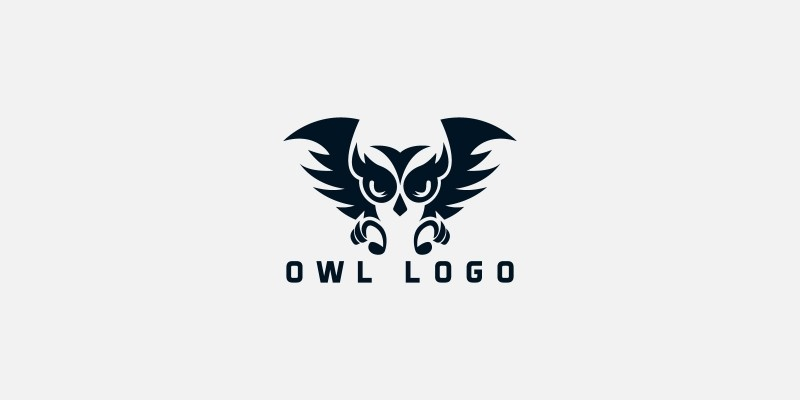 Owl  Nature Logo