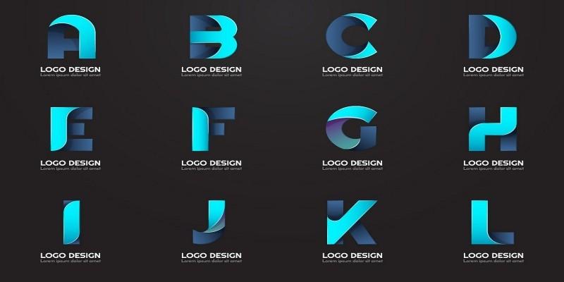 108 A-Z Modern Shape Logo Template Pack