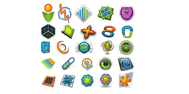 35 - 3D Logos Template Pack