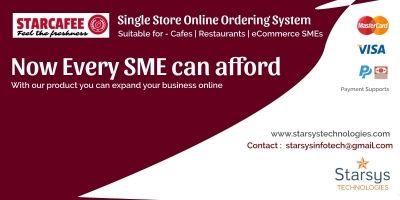 Starcafe - Online Food Ordering System