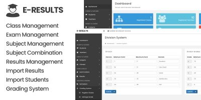 E-Results - Student Results Management System