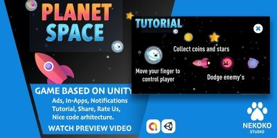 Planet Space - Unity Source Code