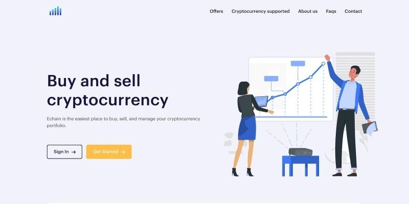 Echain - Cryptocurrency Peer To Peer Platform