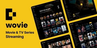 Wovie - Movie and TV Series Streaming Platform