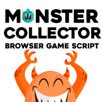 Monster Collector - Browser Game Script