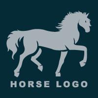 Horse Grooming Logo