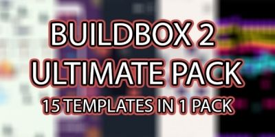 Buildbox 2 Pack - 15 Templates In 1 Pack