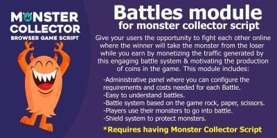 Battles Module For Monster Collector Script