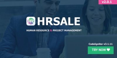 HRSale - HRM And Project Management Script