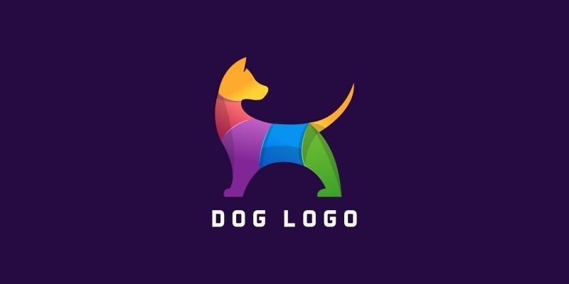 Dog Modern Logo