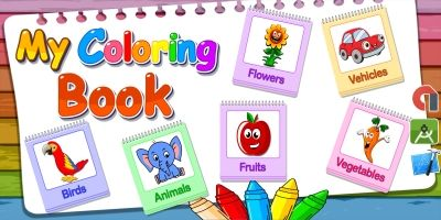 My Coloring Book Game For Kids Android