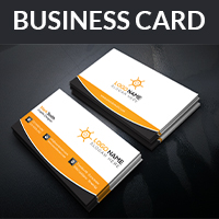 Business Card Design With 04 Concept