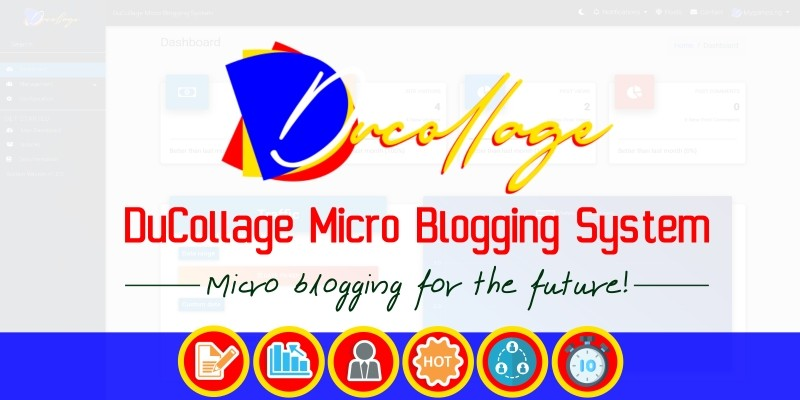 DuCollage Micro Blogging System