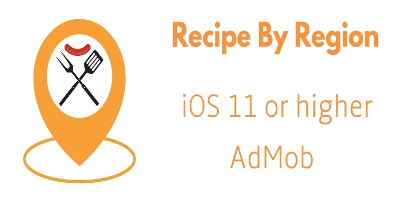 Recipes By Region - iOS Source Code