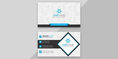 Minimal And Modern Business Card Design