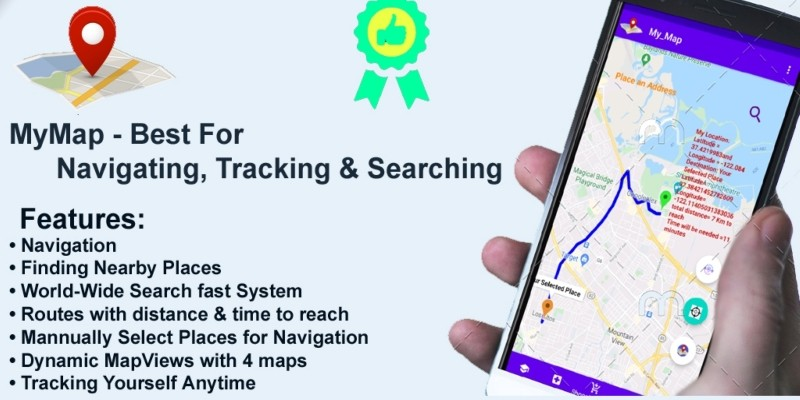 My Map - Best for Navigating And Tracking Android