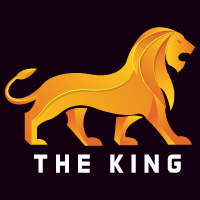Lion King Logo Template